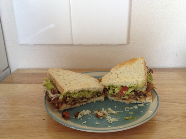 Cali Black Bean Torta